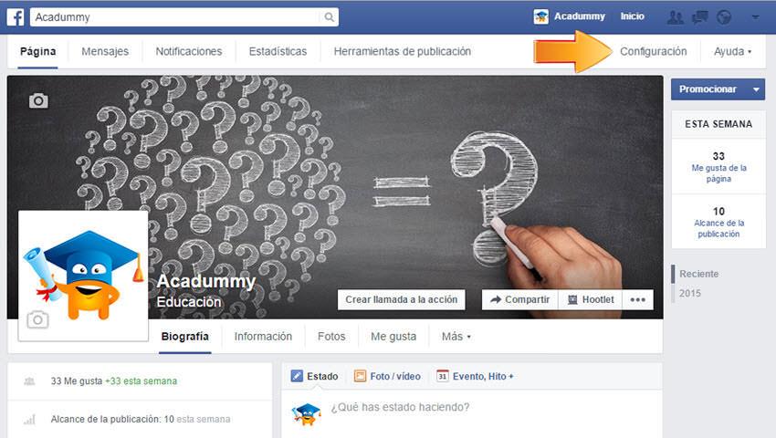 como eliminar pagina facebook